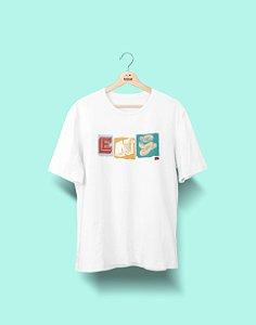 Camiseta Universitária - Engenharias - Colagem - Basic