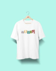 Camiseta Universitária - Artes - Colagem - Basic