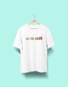 Camiseta Universitária - Arquitetura & Urbanismo - Colagem - Basic