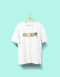 Camiseta Universitária - Agronomia - Colagem - Basic