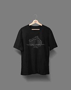 Camiseta Universitária - História - Fine Line - Basic