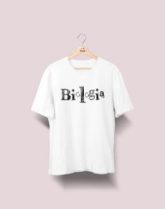 Camiseta Universitária - Biologia - Nanquim - Basic