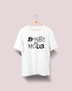 Camiseta Universitária - Design de Moda - Nanquim - Basic