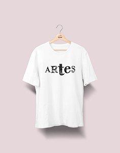 Camiseta Universitária - Artes - Nanquim - Basic