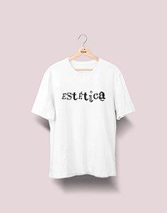 Camiseta Universitária - Estética - Nanquim - Basic