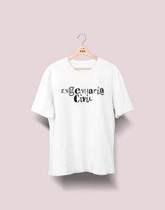 Camiseta Universitária - Engenharia Civil - Nanquim - Basic