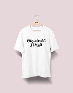 Camiseta Universitária - Educação Física - Nanquim - Basic