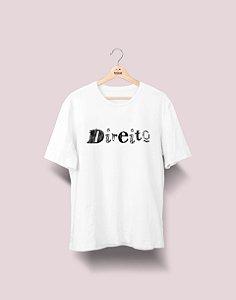 Camiseta Universitária - Direito - Nanquim - Basic