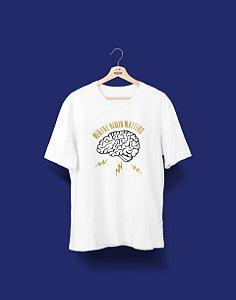 Camisa Universitária - Psicologia - Mental Health - Basic