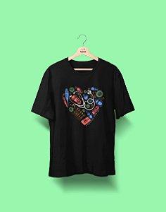 Camiseta Universitária - Enfermagem - Linha de Frente - Basic