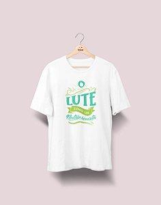 Camiseta Universitária - Nutrição - Lute Como - Ele - Basic