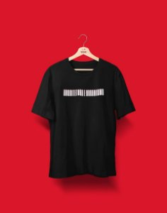 Camiseta Universitária - Coleção 3D - Arquitetura e Urbanismo - Basic