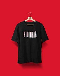 Camiseta Universitária - Coleção 3D - Biologia - Basic