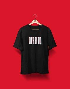 Camiseta Universitária - Coleção 3D - Direito - Basic
