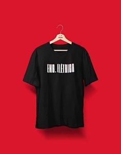 Camiseta Universitária - Coleção 3D - Engenharia Elétrica - Basic