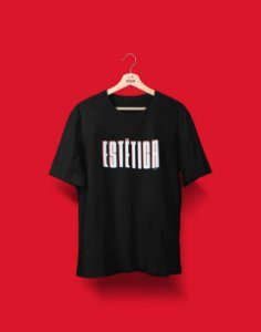 Camiseta Universitária - Coleção 3D - Estética - Basic