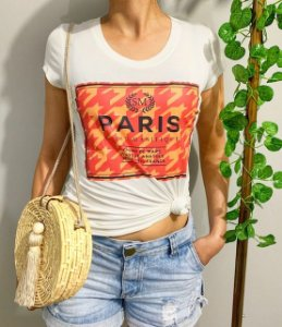 "T-Shirt Viscolycra ""PARIS"""