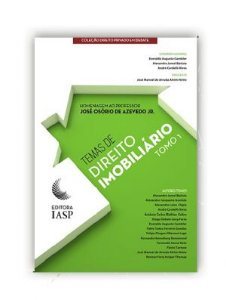 Livro -  Temas de direito imobiliário – Tomo I