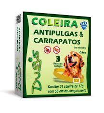 COLEIRA ANTIPULGAS E CARRAPATOS DUGS