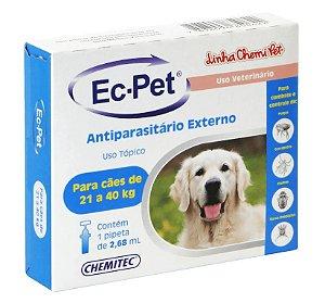 EC.PET ATE 21 A 40 KG ANTIPARASITÁRIO EXTERNO