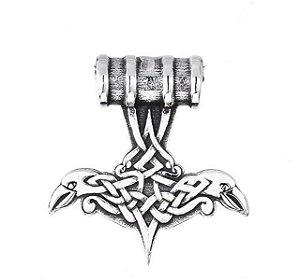 Colar Símbolo Nórdico Viking  em aço