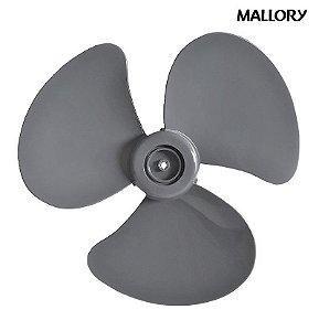 Hélice Ventilador Mallory Boreal Security 30cm Original Cinza