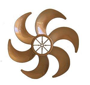 Hélice Ventilador Mallory 30cm Ts30 6 pas Gold Dourada
