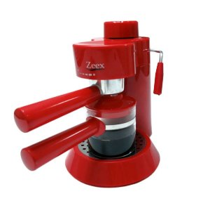 Cafeteira Espresso Cappuccino Aroma mio Zeex 220 Volts Vermelha CM-301C
