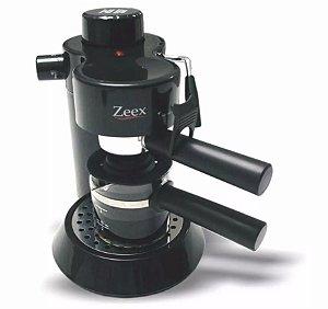 Cafeteira Espresso Cappuccino Aroma Mio Zeex 220 Volts Preta CM-301A