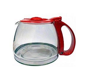 Jarra Cafeteira Mondial Dolce Arome Inox 32 Xicaras C32 C-32 Vermelha