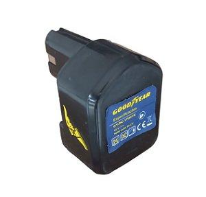 Bateria Furadeira e Parafusadeira Goodyear GYDC 17001 12 Volts Original