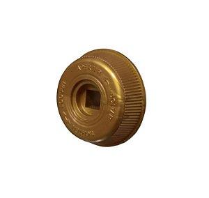 Botão Trava Hélice Ventilador Mallory 40cm Gold Dourado