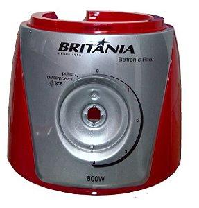 Corpo Liquidificador Britânia Eletronic Filter 800w Vermelho