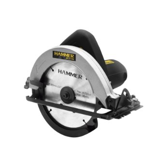 Serra Circular Hammer Alta Potência 1100W 110 Volts 7.1/4