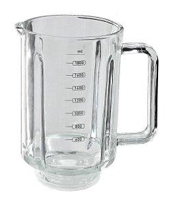 Copo Liquidificador Mallory Taurus Smart Glass Vermelho Vidro