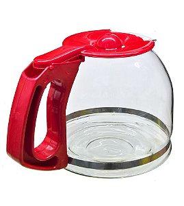 jarra Vidro Cafeteira Oster W12r Red Cuisine Bvstdcw12r-017