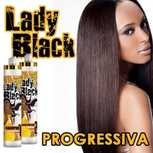ESCOVA PROGRESSIVA Lady Black - 2x 1litro