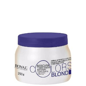 ROYAL PROFESSIONAL MÁSCARA TONALIZANTE COLORS BLOND 250GR