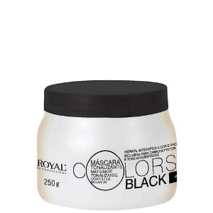 ROYAL PROFESSIONAL MÁSCARA TONALIZANTE COLORS BLACK 250GR
