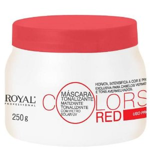 Máscara Tonalizante Colors Red Royal Promax 250g