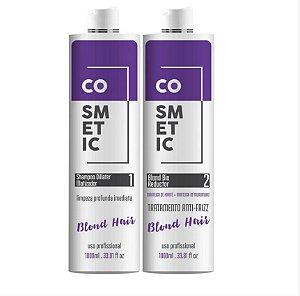 Progressiva Blond Platinum Orgânic Sem Formol - 1000 ml
