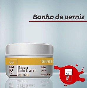 MÁSCARA BANHO DE VERNIZ RESTAURAÇÃO DE FIOS 250G