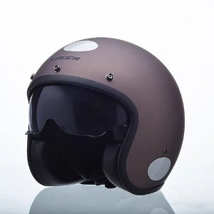 Capacete Lucca Old Moto Sublime Semi Bronze