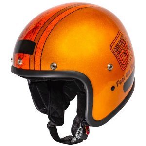 Capacete Old School Kraft  Historic 66