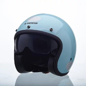 Capacete Lucca Custom Sublime Candy Blue