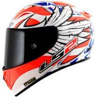LS2 CAP FF323 ARROW R FREEDOM WHT/ORANGE