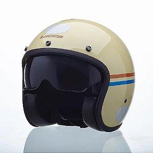 capacete lucca sublime vintage
