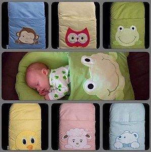 saco de dormir bebe bichinho