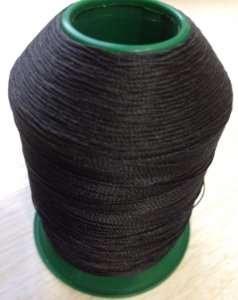 Linha cor preto 100g nº30