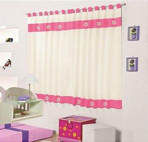 Cortina Margarida Diana para Quarto Infantil P/ Varão Simples